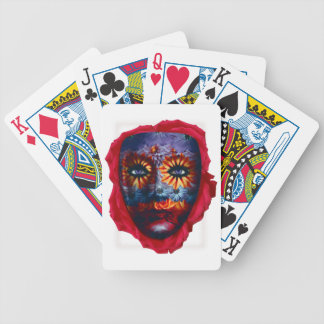 Mysterious mask - Mystery Mask Bicycle Playing Cards