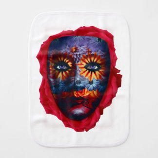 Mysterious mask - Mystery Mask Burp Cloth