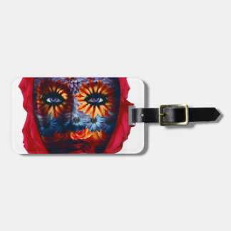 Mysterious mask - Mystery Mask Luggage Tag