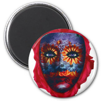 Mysterious mask - Mystery Mask Magnet