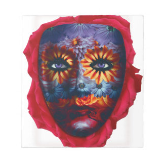 Mysterious mask - Mystery Mask Notepad