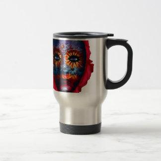 Mysterious mask - Mystery Mask Travel Mug