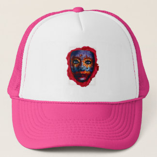 Mysterious mask - Mystery Mask Trucker Hat