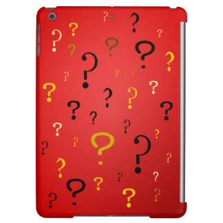 Mysterious Question Marks iPad Air Cover