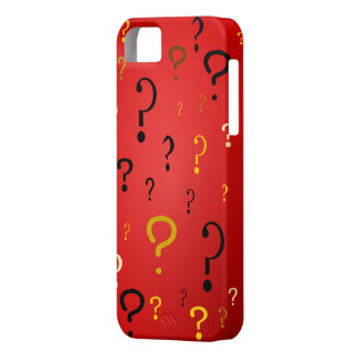 Mysterious Question Marks iPhone 5 Cases
