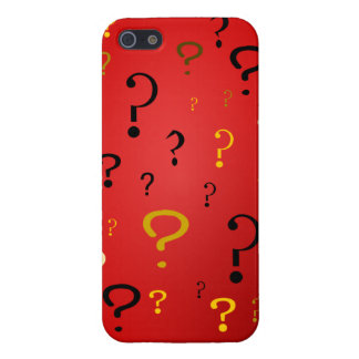 Mysterious Question Marks iPhone 5 Cover
