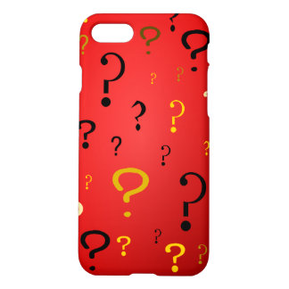 Mysterious Question Marks iPhone 7 Case