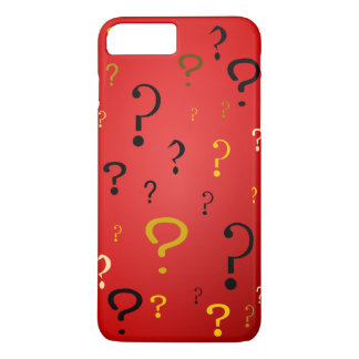 Mysterious Question Marks iPhone 7 Plus Case