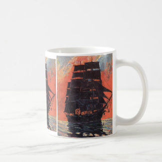 Mysterious Ship Coffee Mug