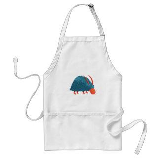 Mysterious shrub-monster standard apron