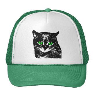 Mysterious Transparent Black Cat Hat