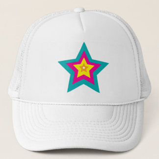 Mysterious Vivid Star Trucker Hat