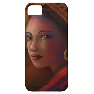 Mysterious Woman iPhone 5 Case
