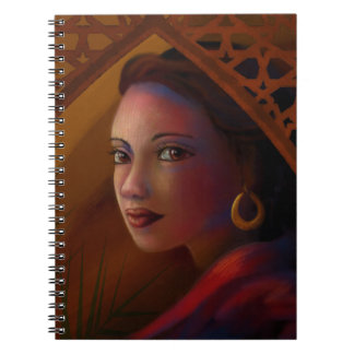 Mysterious Woman Notebooks