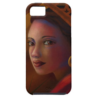 Mysterious Woman Tough iPhone 5 Case