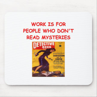 mystery book mouse pads