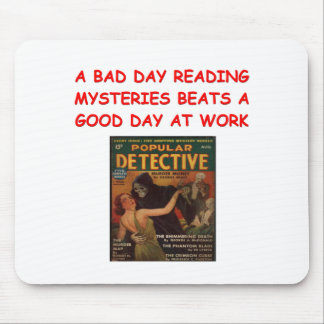 mystery book mousepads