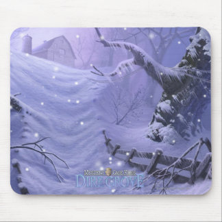 Mystery Case Files: Dire Grove Snowy Path Mouse Pad