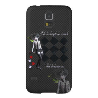 Mystery Girl Galaxy S5 Cover