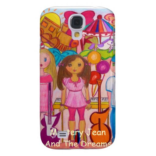 Mystery Jean And The Dreams IPod Case Samsung Galaxy S4 Case