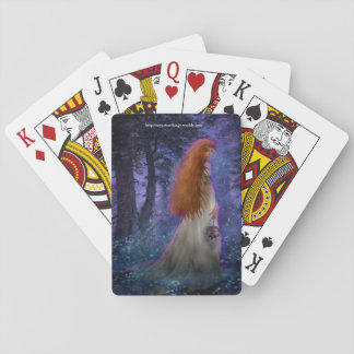 Mystery Lady Playing Cards