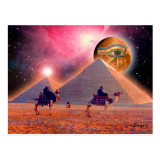 Mystery of the Pyramids Postcard