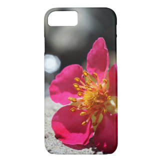 Mystery Pink Flower iPhone 8/7 Case