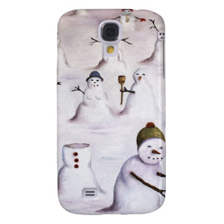 Mystery Revealed On Snowman Hill Samsung Galaxy S4 Covers