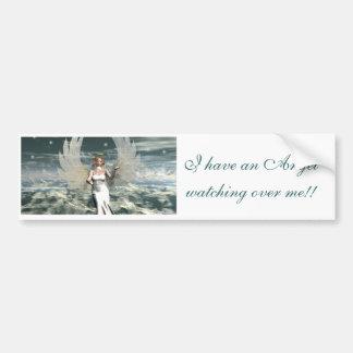 Mystic Angel Bumper Sticker