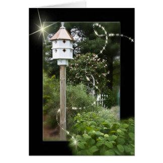 Mystic Bird House Card