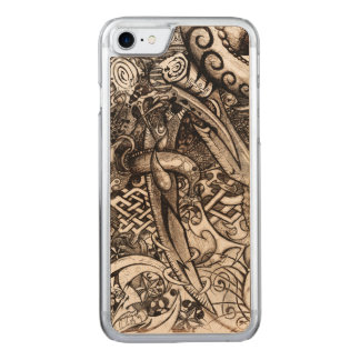 Mystic Blades Intricate Detailed Hand Drawing Carved iPhone 8/7 Case