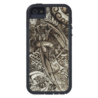 Mystic Blades Intricate Detailed Hand Drawing Case For iPhone 5