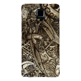 Mystic Blades Intricate Detailed Hand Drawing Galaxy Note 4 Case