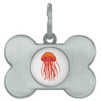 Mystic Blue Pet ID Tag