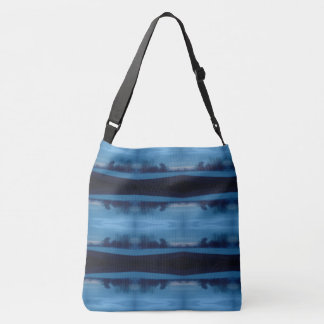 mystic blue tote bag