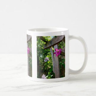 Mystic Clematis Flower Mug