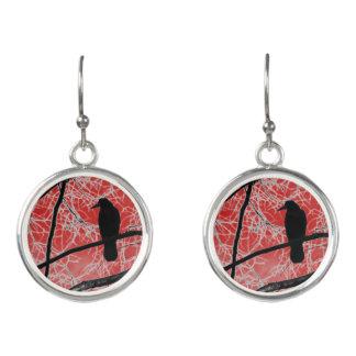 Mystic Crow Earrings