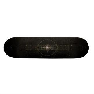 """Mystic Eye"" Fractal Art Skate Board Deck"