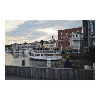 Mystic Ferry Art Photo