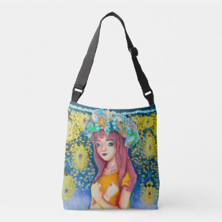 Mystic Firefly Beach All-Over Print Bag