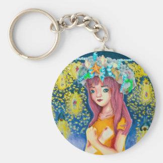 Mystic Firefly Beach Keychain