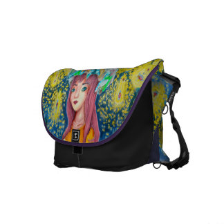 Mystic Firefly Beach messenger bag