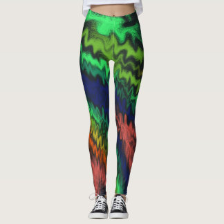 Mystic Fires Leggings