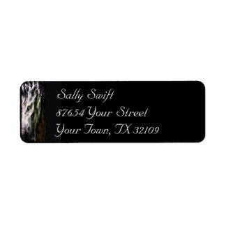 Mystic Friesian Return Address Label