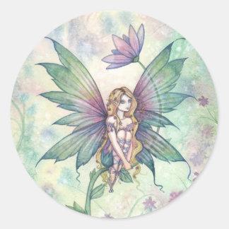 Mystic Garden Flower Fairy Stickers
