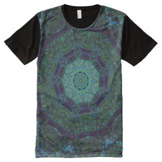 Mystic Kaleidoscope Full Print T-shirt All-Over Print T-Shirt