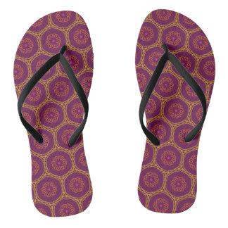 Mystic Kaleidoscope Pattern Thongs