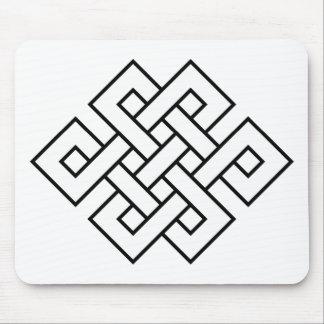 Mystic Knot - B&W 1 Mouse Pad