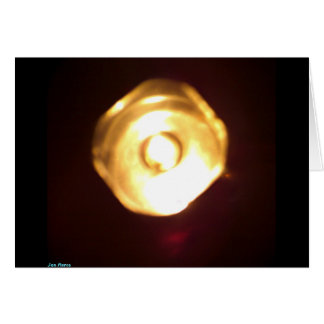 Mystic Lantern Greeting Card