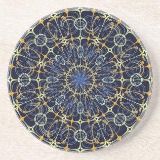 Mystic mandala coasters